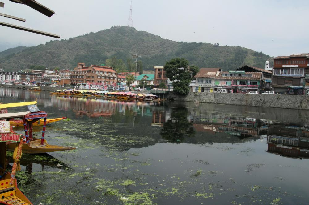 A Dal-tó Srinagarban