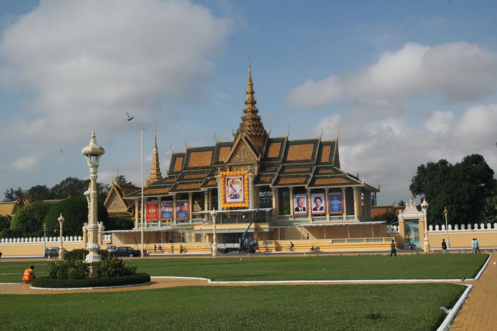 A Királyi palota Phnom Penhben