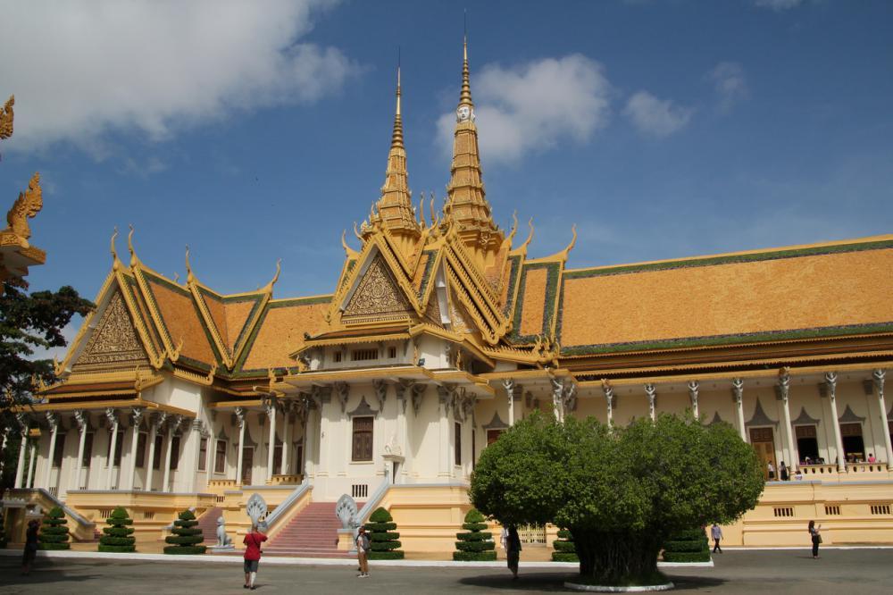 A Királyi palota temploma Phnom Penhben