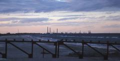 Vízszennyezés (Fekete-tenger, Románia)