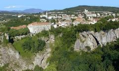 Pazin fojba szurdok (Szlovénia)