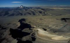 Látótávolság az Andokban (Altiplano, Bolívia)
