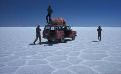 Sós tó (Salar de Uyuni, Bolívia)