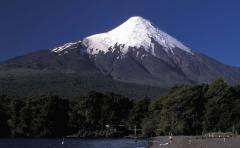 Vulkán (Osorno, 2600 m, Déli-Andok, Chile)