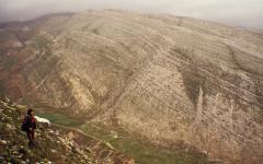 Kopár mészkőlejtő (Albánia)