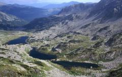 Tengerszem sorozat, sziklagleccser (Retyezát, Románia)