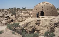 Földrengés nyoma (Tabas, Irán)