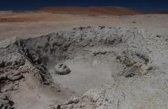 Iszapfortyogó (Sol del Manana, Andok, Bolívia)