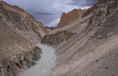Magashegyi völgyek (Himalája, Nyugat-Tibet, India)