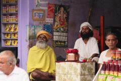 Hindu árusok Pushkarban