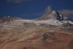 Bányászat, ezüstbánya (Chile)
