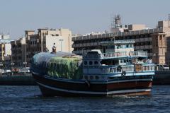 Dubaiban a tengeröbölben szállítják az árut