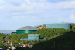 Kőolajtartályok, St. Thomas-sziget