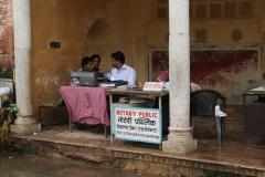 Írnok Jaipurban
