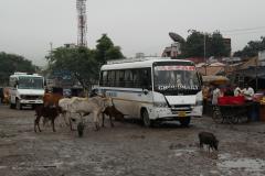 Autóbuszpályaudvar Pushkarban