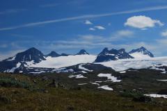 Jégmező (Jostedalsbre, Skandináv-hegység, Norvégia)