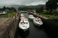 Csatorna Fort Augustusnál