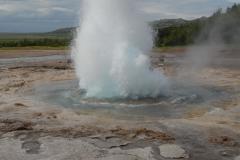 Strokkur-gejzír (Izland)
