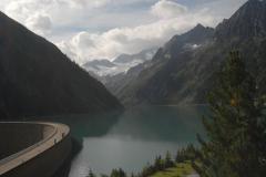 Árapasztó duzzasztógát (Ziller-völgyi-Alpok, Ausztria)