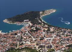 Tombolo (Makarska, Horvátország)