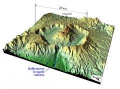 Kaldera (Aso, Japán)