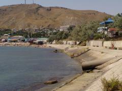 Lebetonozott partvidék (Krím-félsziget)