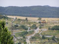 Geotermikus erőmű (Larderello, Olaszország)