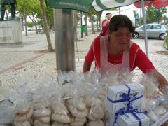 Aveiroban különleges édességet készítenek