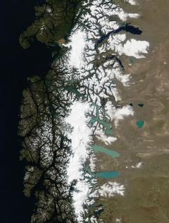 Jégmező (Dél-Patagónia)