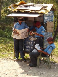 Bharatpurnál rendőrök