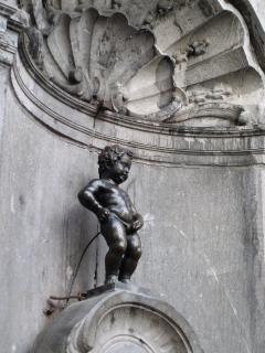 A Manneken Pis, Brüsszel egyik leghíresebb látnivalója