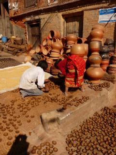 Bhaktapur Fazekasok-tere