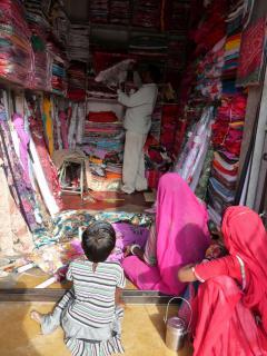 Jaisalmerben ruhabolt