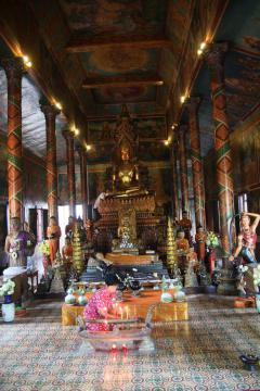 A Wat (templom) Phon Phnom Penhben