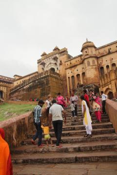 Az Amber-erőd Jaipurban