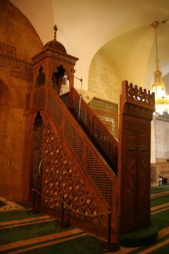 Aleppo Omajjad mecset minbárja