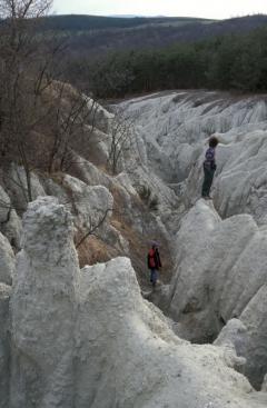 Badland felárkolódás (Kazár)