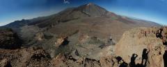 Vulkán (3800 m, Teide, Tenerife, Kanári-szigetek)