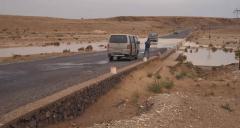 Útépítés vádin keresztül (Marokkó)