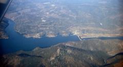 Duzzasztás (Szajan-Susenszki víztároló, Jenyiszej, Szibéria)