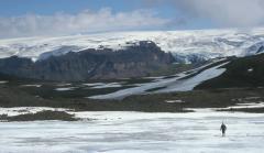 Jégsapka (Eyjafjallajökull, Izland)
