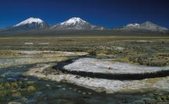 Rétegvulkánok (Andok, Bolívia)