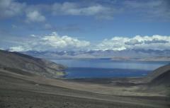 Lefolyástalan tó (Kara-kul, Pamír)
