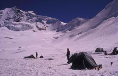 Jéggel telt kárfülke (Bolívia)