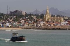 Cunami után újjáépülve (Dél-India)
