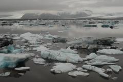 Jégborjadzás (Jökullsárlón, Izland)