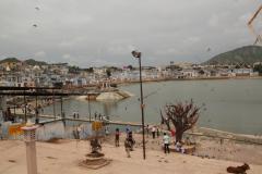 A hinduk szent tava Pushkarban