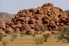 Aprózódás-mállás, inkókőképződés (Namibia)