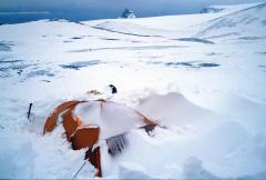 Szélvihar után (Antarktisz)