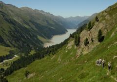 Duzzasztott tó (Ötz-völgyi-Alpok, Ausztria)